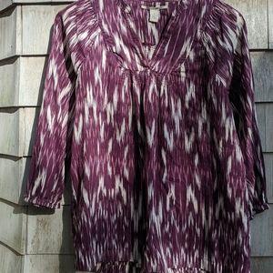 Luck Brand purple ikhat tunic size medium